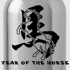 Year of The Horse T-Shirt - Water Bottle
