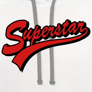 superstar T-Shirts - Contrast Hoodie