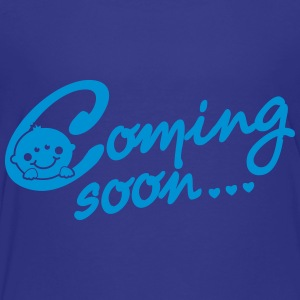 Coming soon... - Pregnancy - Maternity Kids' Shirts - Toddler Premium T-Shirt