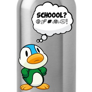 Duck School? Ah nooo! Kids' Shirts - Water Bottle