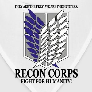 Recon Corps- Attack on Titan T-Shirts - Bandana