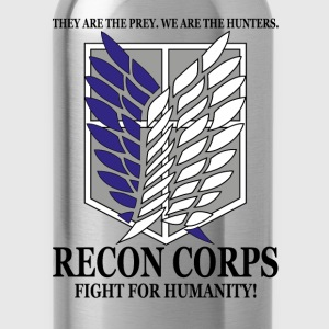 Recon Corps- Attack on Titan T-Shirts - Water Bottle