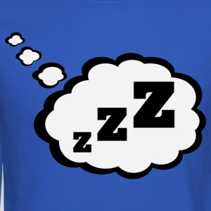 sleepy Thought Bubble Shirt - Crewneck Sweatshirt