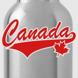 Canada 2 colors Maple Leaf T-Shirt - Water Bottle