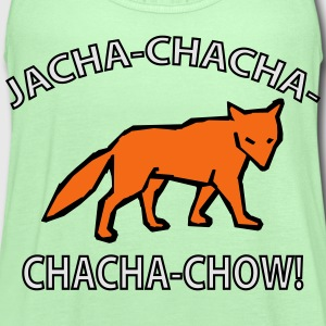 what does the fox say? T-Shirts - Women's Flowy Tank Top by Bella