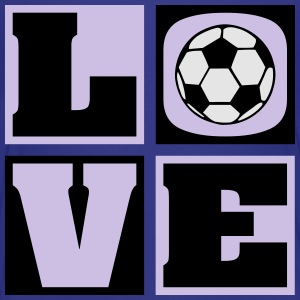 Love Soccer! (Kids') - Toddler Premium T-Shirt