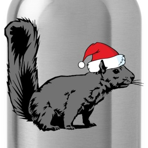 Christmas Squirrel - Water Bottle