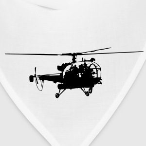 Helicopter Alouette (1 color) T-Shirts - Bandana