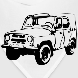 UAZ Jeep (1 color) T-Shirts - Bandana