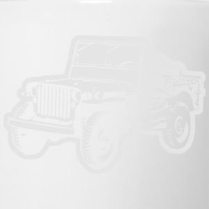 Willys Jeep (diff. color) T-Shirts - Coffee/Tea Mug