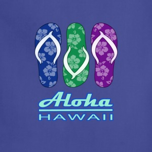 ALOHA - Hawaiian Flip Flops - Adjustable Apron