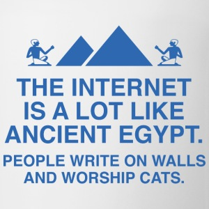 The Internet Is A Lot Like Ancient Egypt - Coffee/Tea Mug