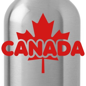 CANADA Maple Leaf Design T-Shirt WR - Water Bottle