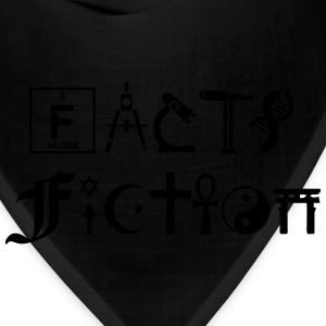 FACTS vs FICTION T-Shirts - Bandana