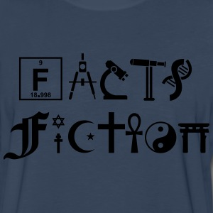 FACTS vs FICTION T-Shirts - Men's Premium Long Sleeve T-Shirt