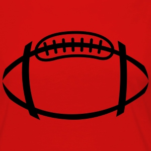 american football ball - Women's Premium Long Sleeve T-Shirt