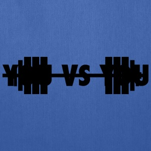 you vs you - for cross fit T-Shirts - Tote Bag