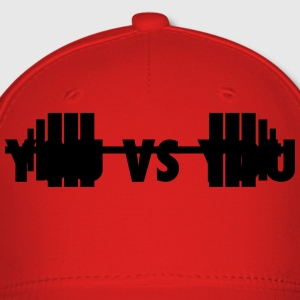 you vs you - for cross fit T-Shirts - Baseball Cap