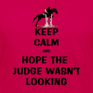 Keep Calm and Hope The Judge Wasn't Looking Kids' Shirts - Women's Premium Long Sleeve T-Shirt