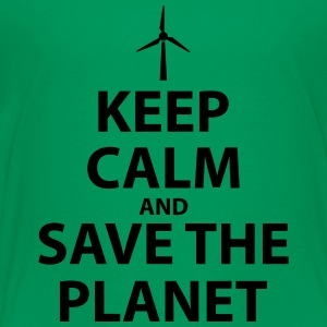 Keep Calm and Save The Planet - Toddler Premium T-Shirt
