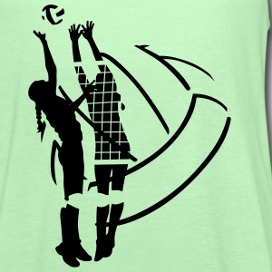 Volleyball Ball T-Shirts - Women's Flowy Tank Top by Bella