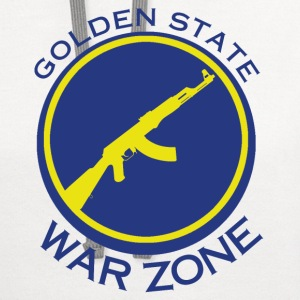 Golden State Warzone - Laney 5s shirt T-Shirts - Contrast Hoodie
