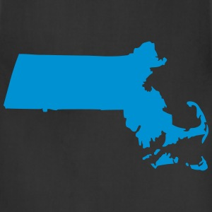 State of Massachusetts T-Shirts - Adjustable Apron