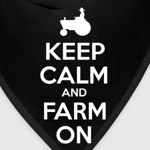 Keep Calm and Farm On - Bandana