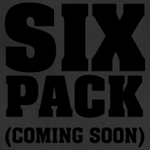 Six Pack (Coming Soon) T-Shirts - Adjustable Apron