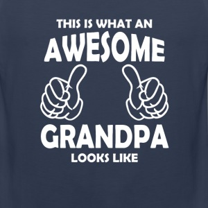 Awesome Grandpa T-Shirts - Men's Premium Tank
