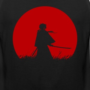 Red Moon Samurai - Men's Premium Tank