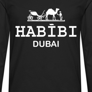 Habibi Dubai T-Shirts - Men's Premium Long Sleeve T-Shirt
