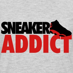 sneaker addict bred T-Shirts - Men's Premium Long Sleeve T-Shirt
