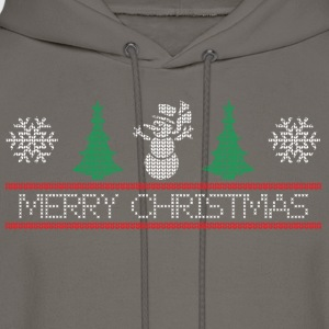 snowman tree T-Shirts - Men's Hoodie