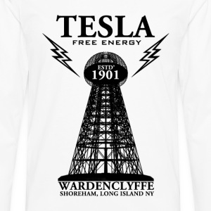 Tesla-T-Shirt-Finished.png T-Shirts - Men's Premium Long Sleeve T-Shirt