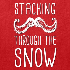 Staching Through the Snow T-Shirt - Tote Bag