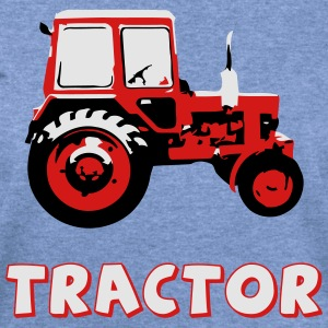 Tractor - the classic soviet MTZ - Women's Wideneck Sweatshirt