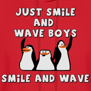 Just Smile and Wave Boys, Smile and Wave - Men's Hoodie