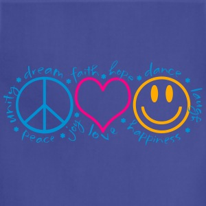 Peace Love Laugh - Adjustable Apron