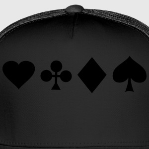 poker T-Shirts - Trucker Cap