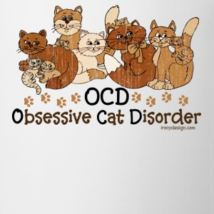 OCD Obsessive Cat Disorder  - Coffee/Tea Mug