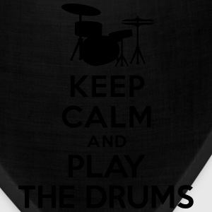 Keep calm and play the drums T-Shirts - Bandana