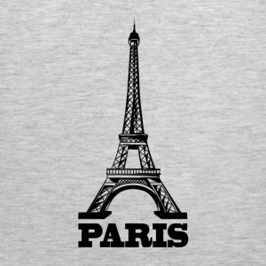 Eiffel Tower Paris France T-Shirts - Men's Premium Tank