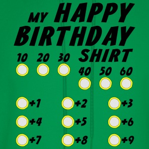 Happy Birthday Custom Shirt T-Shirts - Men's Hoodie