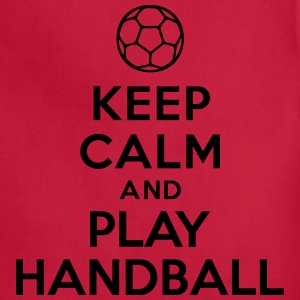 Keep calm and play Handball T-Shirts - Adjustable Apron