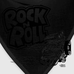 rock_n_roll_with_blown_engine T-Shirts - Bandana