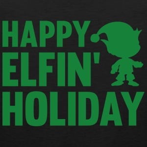 Happy Elfin' Holiday - Men's Premium Tank