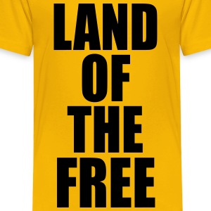 Land of the free Kids' Shirts - Toddler Premium T-Shirt