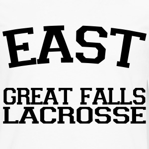 East Great Falls Lacrosse T-Shirts - Men's Premium Long Sleeve T-Shirt