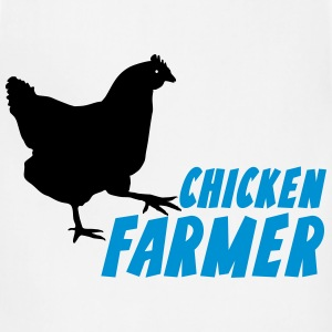 chicken Farmer Farming Agriculture T-Shirts - Adjustable Apron